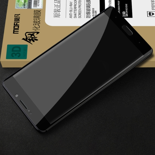 Buy MOFI Xiaomi Mi Note 2 0.3mm 9H Surface Hardness 3D Curved Edge Anti-scratch HD Full Coverage Tempered Glass Screen Protector, Black for $4.91 in SUNSKY store