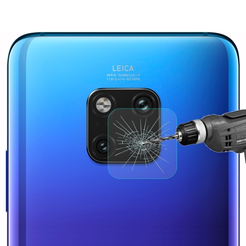 ENKAY Hat-Prince 0.2mm 9H 2.15D Rear Camera Protection Arc Edge Tempered Glass Protective Film for Huawei Mate 20 Pro