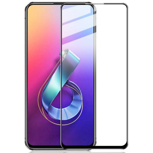 IMAK 9H Full Screen Tempered Glass Film Pro+ Version for Asus Zenfone 6 ZS630KL(Black)