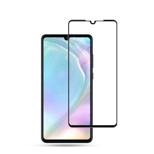 mocolo 0.33mm 9H 3D Full Glue Curved Full Screen Tempered Glass Film for Huawei P30 (Black)