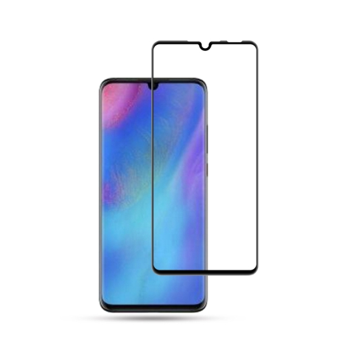 mocolo 0.33mm 9H 3D Full Glue Curved Full Screen Tempered Glass Film for Huawei P30 Lite (Black)