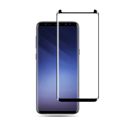 mocolo 0.33mm 9H 3D Curved Tempered Glass Film for Galaxy S9 (Black)