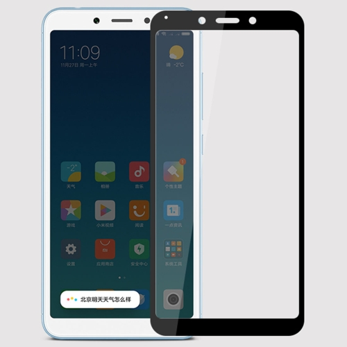 MOFI 0.3mm 9H Surface Hardness 3D Curved Edge Tempered Glass Film for Xiaomi Redmi 6A