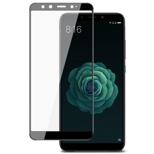 IMAK 9H Full Screen Tempered Glass Film Pro Version for Xiaomi Mi 6X / A2(Black)
