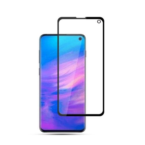 mocolo Full Glue 0.33mm 9H 2.5D Tempered Glass Film for Galaxy S10e(Black)