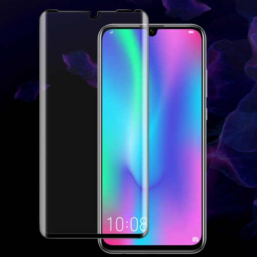 IMAK 9H 3D Curved Surface Full Screen Tempered Glass Film for Huawei P30 Pro (Black)