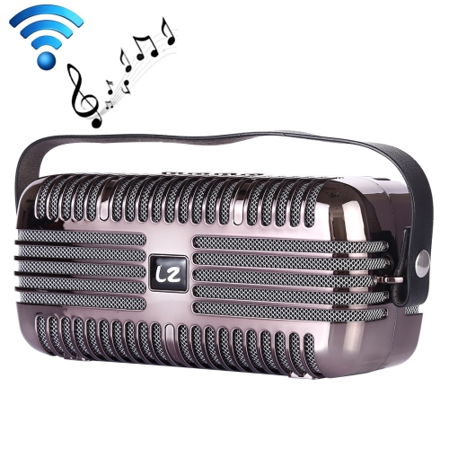 LZ E27 DC 5V Portable Wireless Speaker with Hands-free Calling, Support USB & TF Card & 3.5mm Aux (Black)