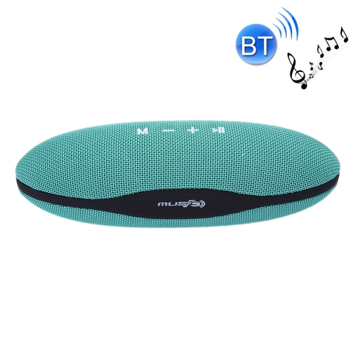 XC-Z6 Portable Oval Shaped Fabric Design Bluetooth Stereo Speaker