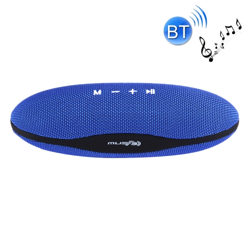 Buy XC-Z6 Portable Oval Shaped Fabric Design Bluetooth Stereo Speaker for $12.54 in SUNSKY store