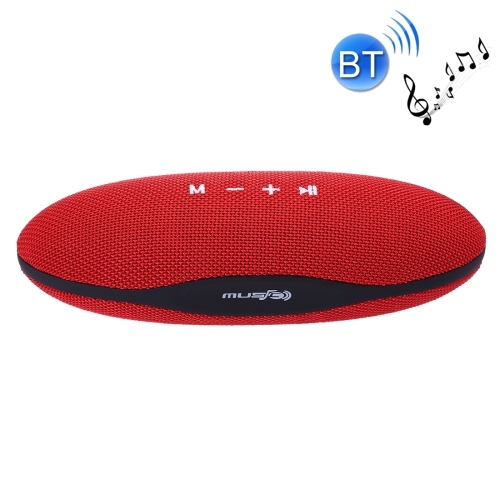 Buy XC-Z6 Portable Oval Shaped Fabric Design Bluetooth Stereo Speaker for $12.49 in SUNSKY store