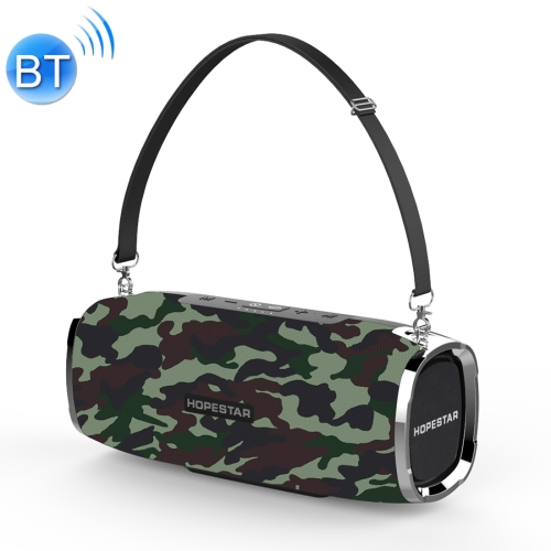 HOPESTAR A6 Mini Portable Rabbit Wireless Waterproof Bluetooth Speaker, Built-in Mic, Support AUX / Hand Free Call / FM / TF(Army Green) k1 portable 3w bluetooth v2 1 speaker w mic mini usb tf fm blue black silver