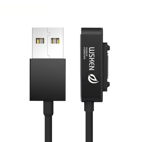 Buy WSKEN X-cable 1m 1.35A Magnetic Cable Single Metal Head Data Sync Charging Cable Magnetism Cable with White Light for $6.85 in SUNSKY store