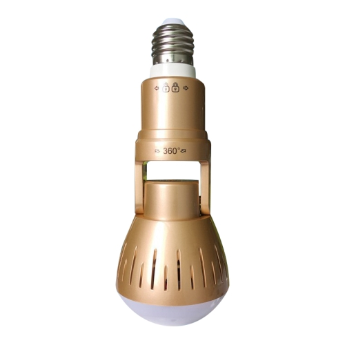 2.0 Megapixel Panoramic Universal Light Bulb Camera Mobile Phone Remote Installation Home Network HD Plug and Play V380 Monitoring
