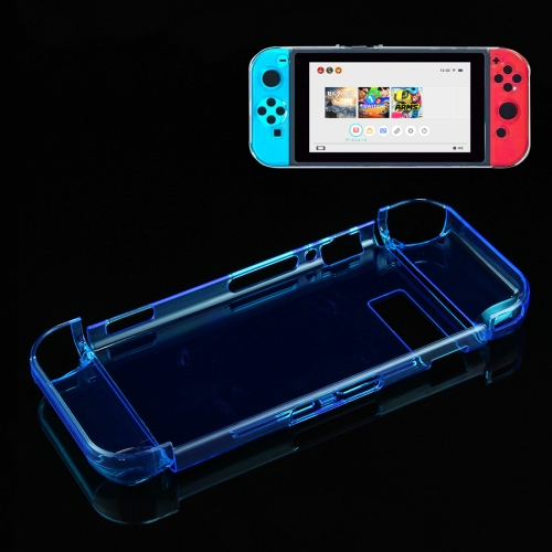 Buy For Nintendo Switch Game Console Hard Plastic Crystal Case Cover Protector Back Case, Blue for $4.76 in SUNSKY store