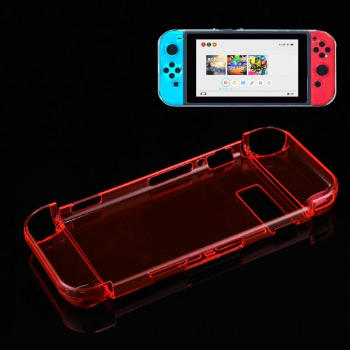Buy For Nintendo Switch Game Console Hard Plastic Crystal Case Cover Protector Back Case, Red for $4.76 in SUNSKY store