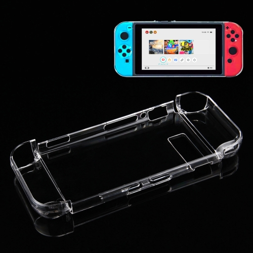 Buy For Nintendo Switch Game Console Hard Plastic Crystal Case Cover Protector Back Case, Transparent for $4.76 in SUNSKY store