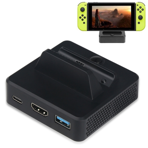 Multi-function Video Base Converter Station with Holder for Switch