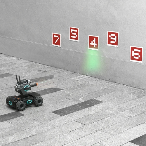 Sunsky Startrc 1105731 Dedicated Visual Identification Card Shooting Target Set For Dji Robomaster S1