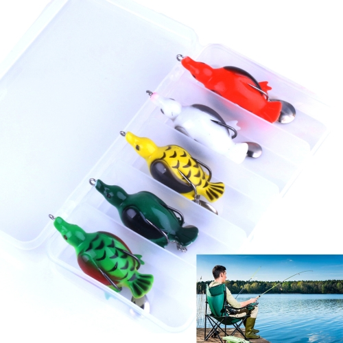 Buy Small Flying Fish Turtle Sequins Lures Boxed 5cm/12.6g Sea Fishing Lures Bait Bionic Kit for $6.66 in SUNSKY store
