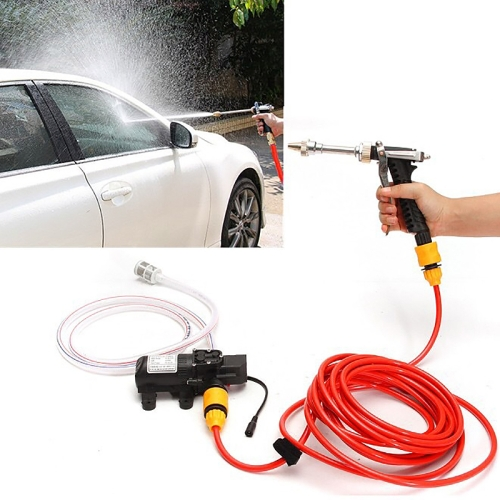 70W Portable High Pressure Car Cleaning Pump Washing Machine Device, DC 12V beto tire air fork bicycle pump portable mini inflator bike pump gauge 300psi high pressure pumps mp 036 av fv schrader presta