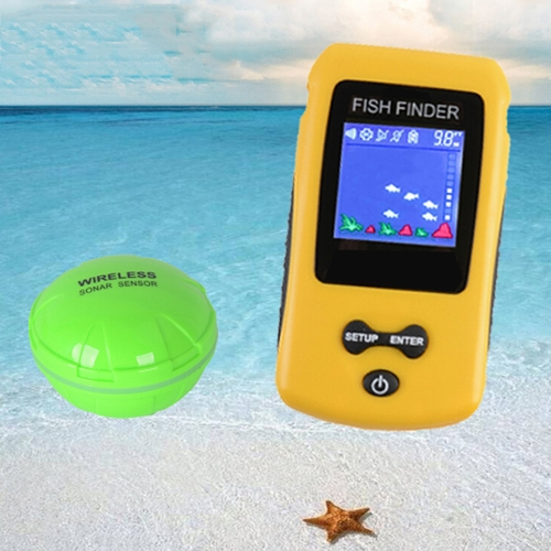 TL86 Portable Wireless Color Screen Fishing Device Fishfinder