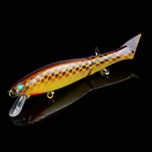 Buy JM 011-X 6# 12cm 13.5g Multi-section Plastic Hard Baits Artificial Fishing Lures with Treble Hook, Random Color Delivery for $1.99 in SUNSKY store