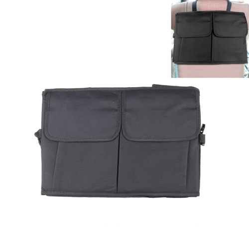 Buy Car Back Seat Hanger Car Headrest Bag, Size: 38.7*28*3cm, Black for $3.25 in SUNSKY store
