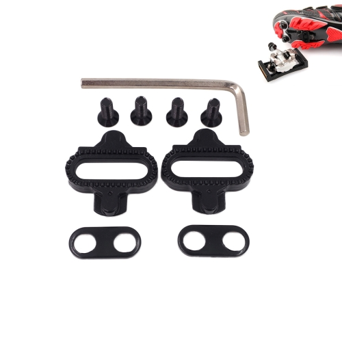 Bike Bicycle MTB Lock Pedal Plate SPD Shoe Adapter Cleats Clipless For Shimano