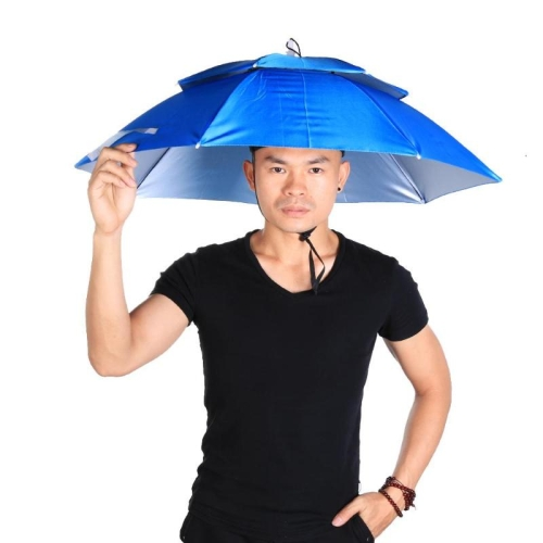 SUNSKY - Outdoor Large Double Layer Fishing Umbrella Hat Cycling ... 20f3ff758fa