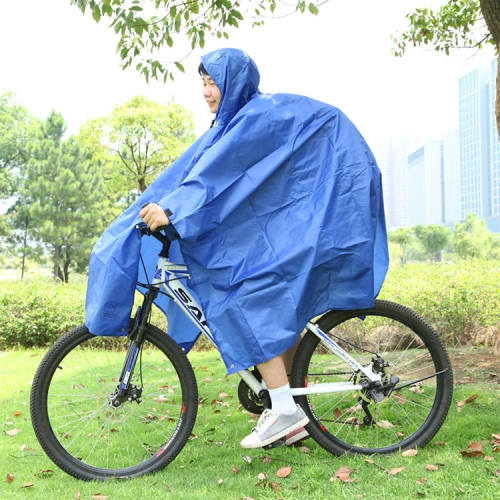 3 in 1 Aotu AT6927 Multifunctional Outdoor Camp Riding Raincoat Picnic Blanket, Size: 217x143cm(Blue)