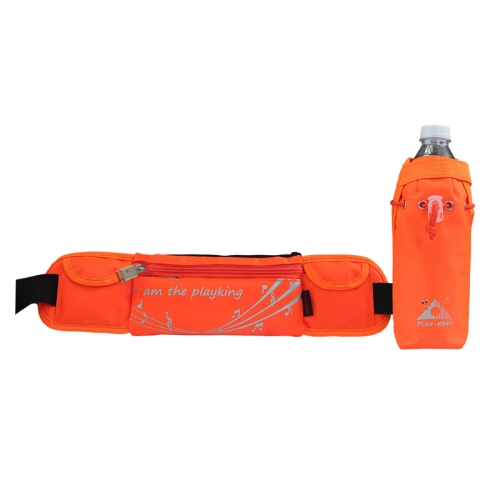Buy Playking 1358 Multi-functional Unisex Running Outdoor Sports Water Bottle Waist Bag, Orange for $12.23 in SUNSKY store