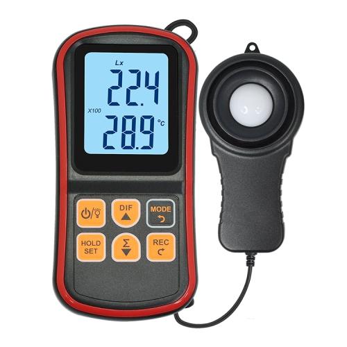 BENETECH GM1030 Portable Split Digital Illuminometer LUX Meter