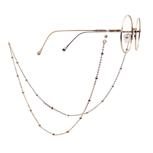 Fashion Simple Pearl Eyeglasses Chain(Gold)