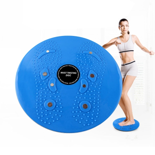 Aerobic Exercise Fitness Magnet Wriggling Waist Disk Twist Board, Size: 25*3cm(Blue) фото