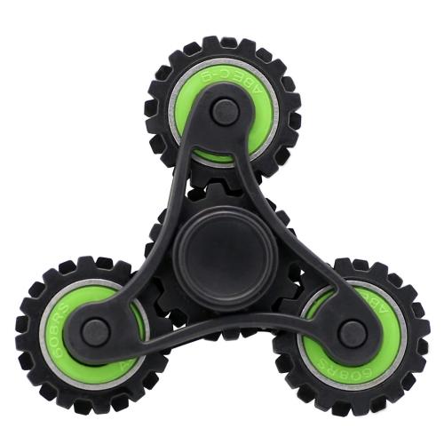 SUNSKY Wheel Gears Fid Spinner Toy Stress Reducer Anti Anxiety
