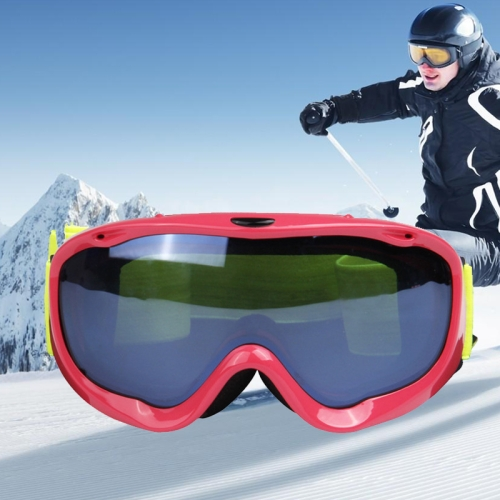 Buy H002 Unisex Dual Layers Anti-fog Windprooof UV Protection Spherical Goggles with Adjustable Strap (Rose Gold) for $21.96 in SUNSKY store