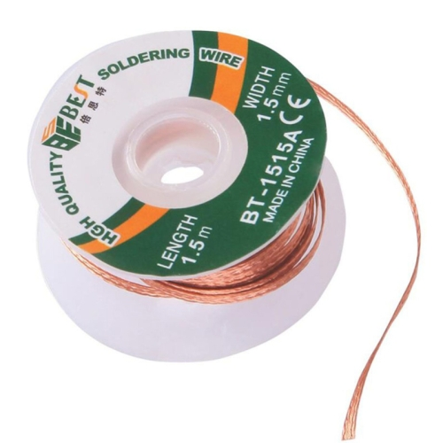 BST-1515A   Desoldering Wire Solder Remover Wire