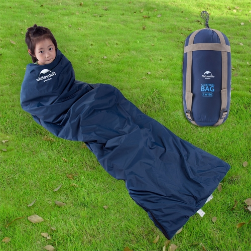Buy Naturehike Outdoor Camping Envelope Sleeping Bag Mini Ultra-light Travel Sleeping Bed, Big Size: 190x75cm (Dark Blue) for $21.69 in SUNSKY store