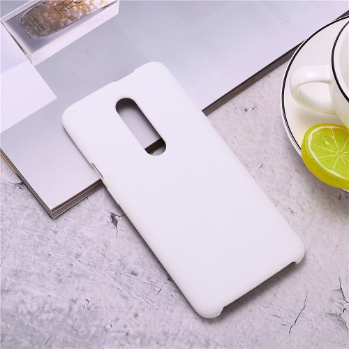 Ultra-thin Liquid Silicone Dropproof Protective Case for OnePlus 7 Pro (White)