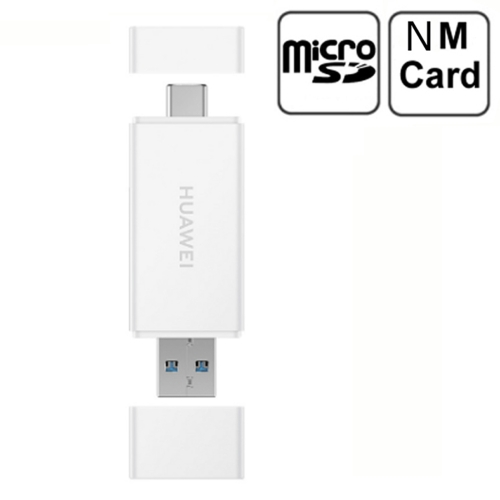Huawei 2 in 1 USB-C / Type-C + Type-A Interface Card Reader for Micro SD & NM Memory Card