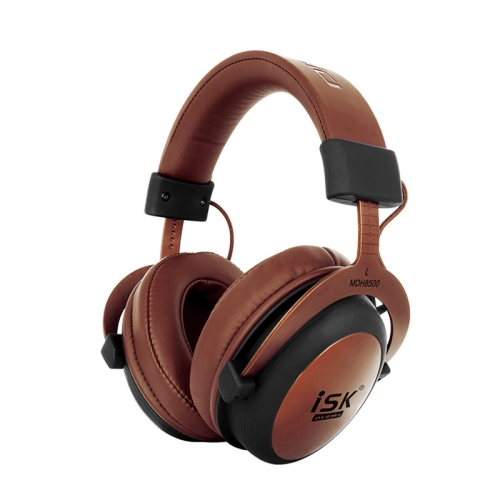 ISK MDH8500 Fully Enclosed Dynamic Stereo Monitor Wired Headset Noise Canceling Studio Headphone