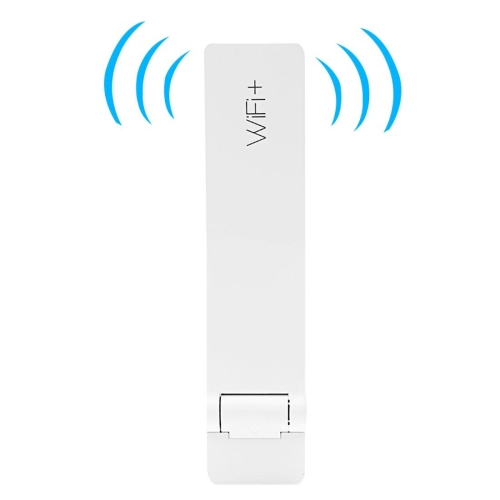 [HK Stock] Original Xiaomi Mi WiFi Amplifier II Global Official Version Signal Booster USB Port Wireless Repeater(White) original xiaomi r01 mi wifi amplifier chinese version