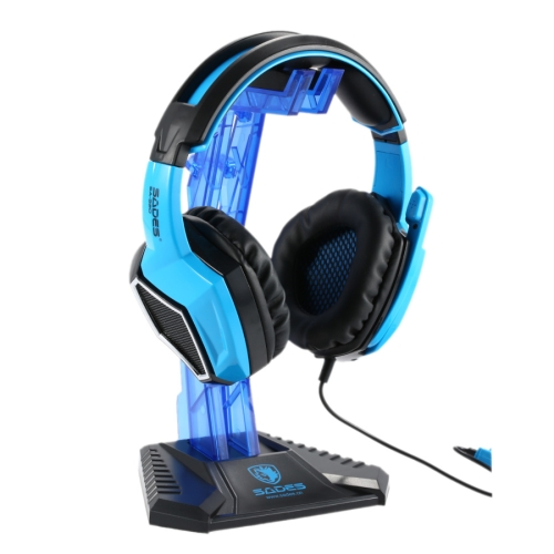 SADES Universal Multi-function Gaming Headphone Hanger Desk Headset Stand Holder Display Rack(Blue) 10pcs lot 15000gs multi function clothing security tag remover universal eas system detacher for supermarket