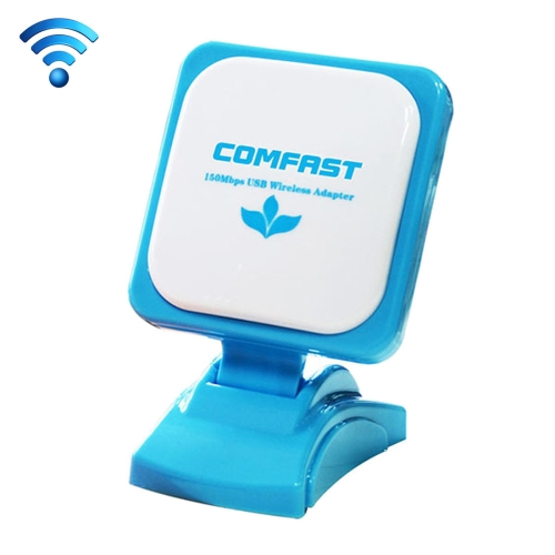 Buy COMFAST CF-WU670N 90 Degrees Rotation RT3070L + RTC6649 Power Amplifier Chip 150Mbps High-Speed Mobile Portable WiFi WLAN Transmitter Receiver Wireless Adapter Network Card with 12dBi Directional Patch Antenna for Notebook and Desktop Computer for $11.77 in SUNSKY store