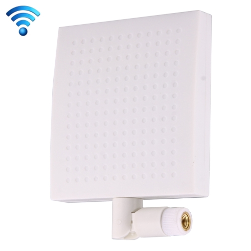 Buy 12dBi SMA Male Connector 5.8GHz Panel WiFi Antenna, White for $4.71 in SUNSKY store