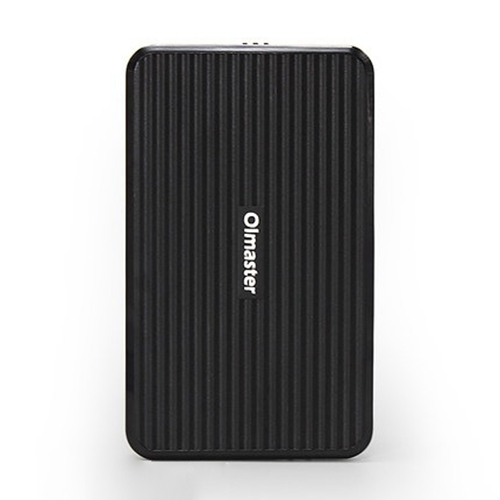 OImaster EB-2506U3 SATA USB 3.0 Interface HDD Enclosure for Laptops, Support Thickness: 7.0-12.5mm (Black)