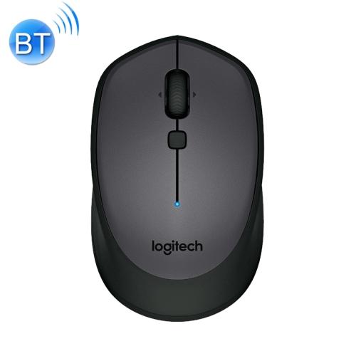 Logitech M336 1000DPI Bluetooth 3.0 Symmetrical Design Wireless Bluetooth Optical Mouse (Black)
