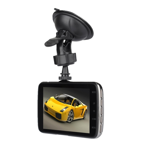 Buy T4 4.0 inch HD Vehicle Traveling Driving Recorder Car Camcorder DVR Digital Video Camera Voice Recorder with Dual Camera, Support TF Card up to 32GB & Night Vision, Black for $49.62 in SUNSKY store
