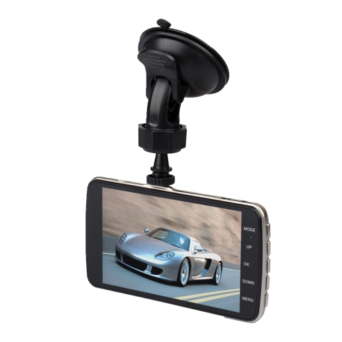 Buy T5 4.0 inch HD Vehicle Traveling Driving Recorder Car Camcorder DVR Digital Video Camera Voice Recorder with Dual Camera, Support TF Card up to 32GB & Night Vision, Black for $49.62 in SUNSKY store