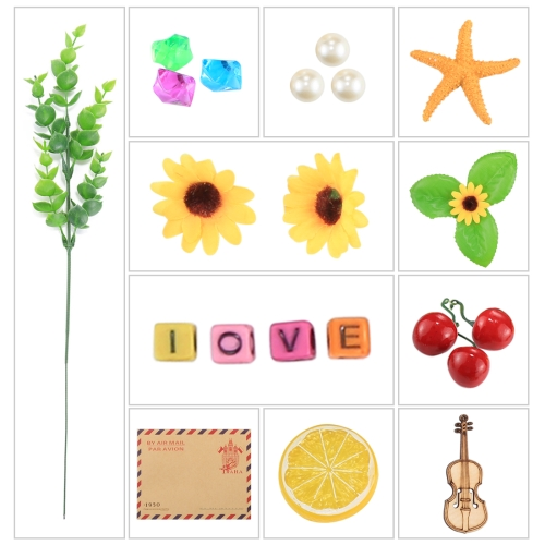 Фото - PULUZ 21 in 1 Photography Props (Retro Envelope + Crystal Stone + Pearl + Starfish + Pine Nuts + Violin + Alphabet LOVE + Sunflower + Plant Tree + Orange Piece + Cherry) oxford reading tree songbirds alphabet games flashcards